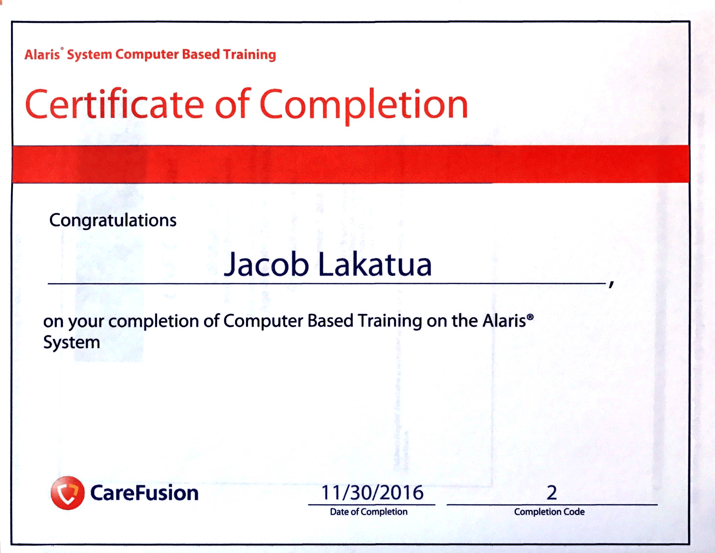Certifications achievements alaris computer training ceu xflitez Gallery